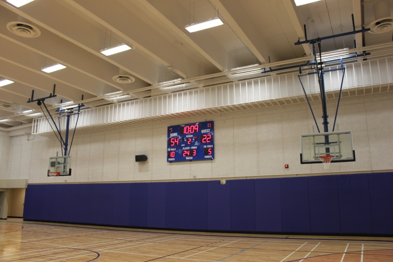 Basketball Ceiling Mounted Systems