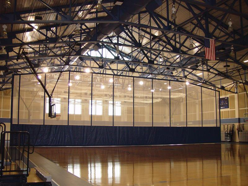 Products 187 Folding Divider Curtain Lolimpin Gym