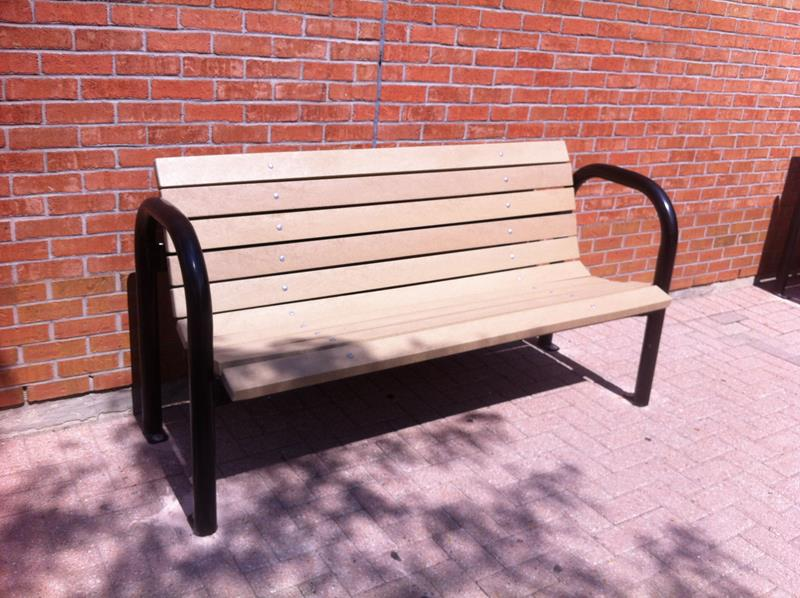 Products Contemporary Park Bench Wood