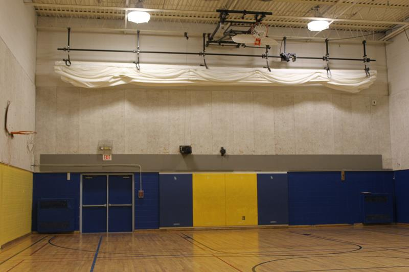 Ceiling Bike Rack >> Products » LO-EAN Electric Retractable Archery Netting ...