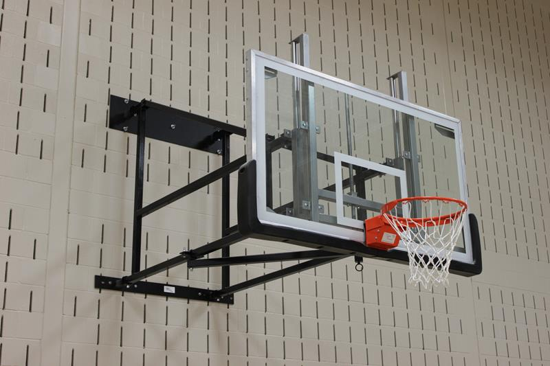 Products 187 Wall Mounted Side Swing Basketball Unit